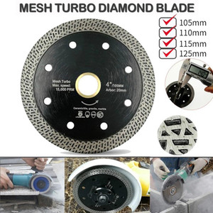 105 110 115 125mm Cutting Disk Diamond Saw Blade Disc Porcelain Tile Ceramic Granite Marble Cutting Blades For Angle Grinder