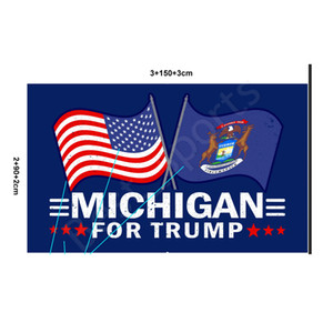 New Customized Trump Flag 90*150cm Trump 2020 Keep America Great Flag USA Flags American Presidential Election Trump Flags CYZ2801