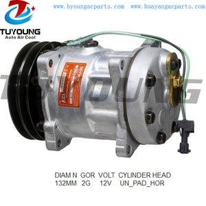 Alta calidad ac SD7H15 automático del compresor Renault VI 5010483030 R134A