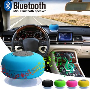 Mini suction cup Portable Waterproof Wireless Bluetooth Speaker multifunctional bathroom Car Handsfree Receive Call Subwoofer Speakers DHL