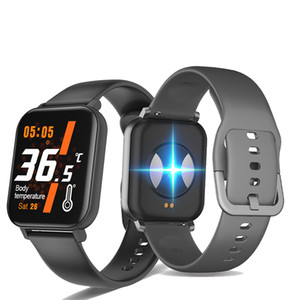 F25 smart watch Body Temperature 24H Measurement Heart Rate Fitness Tracker smartwatch For Andorid IOS PK W58 Pro F16 QS19 P29