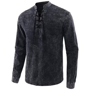 Tops Casual Designer Male Tees Patchwok Cor Mens T-shirts Casual slim V Neck Pullovers # 720