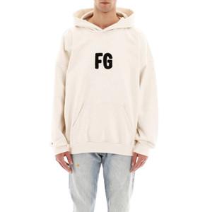 Carta de la manga clásico 20SS FG Toalla bordado High Street sudaderas con capucha Hombres Mujeres Primavera largo otoño sudadera suéter HFYMWY489