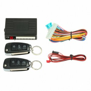 Universal Car alarm system remote control Car Central Locking Keyless system with Trunk Release Button for Peugeot 307 VW Toyota 7kVH#
