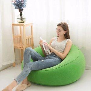 Kamp Yürüyüş için Uyku Tulumu Açık Hafif Şişme Koltuk Lounger Lazy Çanta Hava Koltuk Şişme Sandalye
