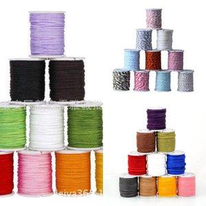 Hot Diy chinesischer Faden Seil Verkauf knot knot geflochtenes Seil DIY Schmuck Nylon Chinese handgemachte geflochtene Gurtzusätze Material NIuhx