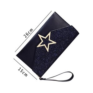 #001 #01 2018 Women Shoulder Messenger Bags Fashion Paillette Party Envelope Bag Solid Clutch Handbag Casual Hasp Cross Body Phone Purse