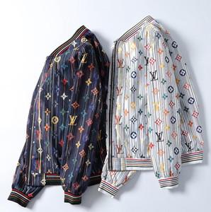 son uluslararası seçkin ceket üst seviye kat yüksek kaliteli rahat ceket moda stand-up yaka kazak kazak gömlek