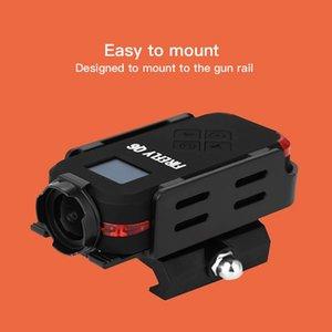 هوك اليراع Q6 كاميرا 4K HD عمل الكاميرا LED القصدير 120 درجة واسعة العمل الرياضي زاوية لFPV المتسابق الجزء الطائرة بدون طيار