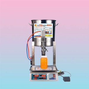 2020 machine de remplissage multifonctionnelle d'huile de sésame petit miel machine de remplissage quantitative liquide machine de remplissage en acier inoxydable