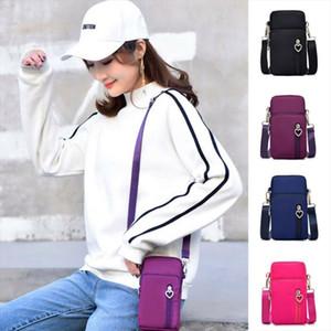 Women Cross body Mobile Phone Shoulder Bags Pouch Case Belt Handbag Purse Wallet Drop Shipping Good Quality