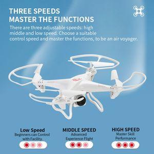 RC بدون طيار أربعة محور الطائرات بدون طيار طائرة التحكم عن بعد مع HD كاميرا طفل متعة اللعب التحكم عن بعد UAV