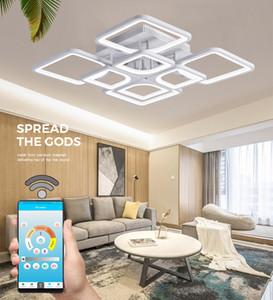 IRALAN Nouveau plafonnier domestique étude lampe de plafond conduit de salon chambre cuisine moderne éclairage plafonnier LED