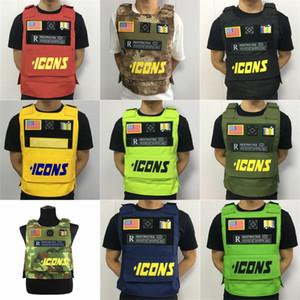 TMC Cordura Coyote Brown (CB) Micro Chest Rig Low Profile Mini tattico Combatti Vest Rig Set (SKU051203) Gilet tattici # 594