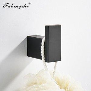 A colori ad alta Bagno Hardware Set asciugamani in acciaio inox mensola del bagno Titolare Falangshi Ganci Qualità Wb8838 nero 304 Paper Rack bJxSI