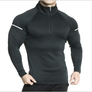 Autumn New Fashion Men brand Muscle Gyms Bodybuilding Sporting Workout Hoodie Fitness Jackets Pullover Sweatshirt Coat Clothes