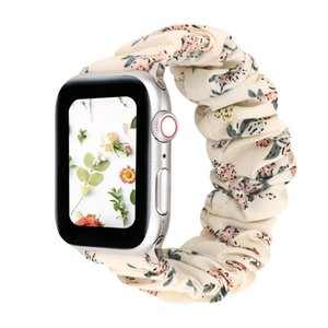Designer Fashion For Apple Watch Bands Smart Wrist Straps 38 40 42   44mm Sports Watch Replacement Printed Fabric Strap Iwatch Series54321