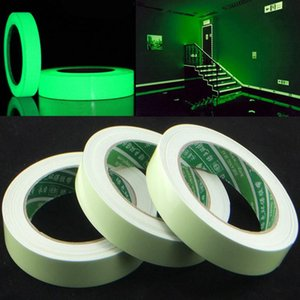 15mm X 3m  Roll Luminous Tape Self -Adhesive Glow In The Dark Safety Stage Home Decorations Warning Tape