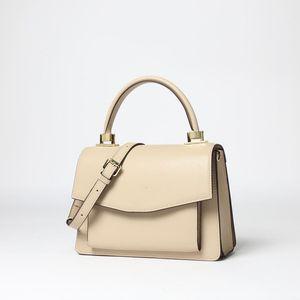 Charm2019 сумка Solid Color Organ рук коносамент плеча неподдельной кожи Пакет