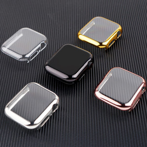 Cover for Apple Watch 5 Case 44mm 40mm iWatch 42mm 38mm 40 44 mm All-around bumper Protector Apple watch series 3 4 Accessories