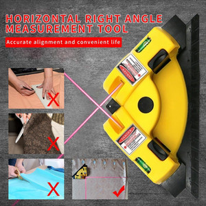 Hot Selling Angle 90 Degree Vertical Horizontal Laser Level Square Projection Laser Measurement Tools Level Laser Tools