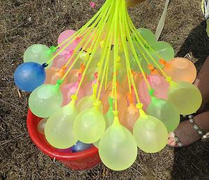 111 pz Balloons d'acqua riempiendo rapidamente il magia magico Palloncini Bombe Bombe Istantanea Beach Giocattoli Estate Giocattoli da combattimento esterna per bambini