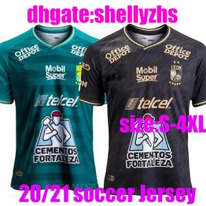 De gran tamaño: XXXL Nuevo México 20 21 Leon F. C. Fútbol Jersey 2020 Liga MX club de León hogar 3ª camisetas de fútbol