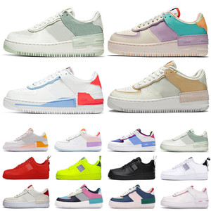 Nike air force 1 af1 Mujeres Zapatillas Skateboarding Unos High Low Cut Wheat Brown Entrenadores deportivos