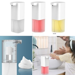 350ml Automatic Liquid Soap Dispenser Built-in Infrared Smart Sensor Touchless Sanitizer Dispenser for Kitchen Bathroom + effervescent A8261