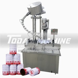 small plastic bottle labeling machine bottle screw capping machine