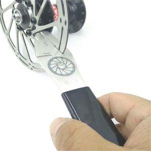 Correction Clé bicyclette disque de calibrage frein anti-friction écart disque de réglage Correction Réparation de freins Déformation outil