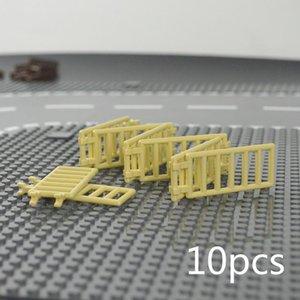 Ladrillos moc piezas de la puerta de Windows Ciudad Accesorios Building Blocks casa cerca escaleras Escalera juguete para el cabrito compatible mywjqq Marcas qylFUp