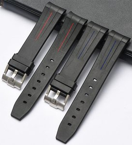 cgjxs Eache Yeni Silikon Kauçuk İzle Band İzle sapanlar Su geçirmez Watchband 20mm 21mm