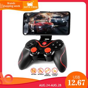 DataFrog sans fil Bluetooth Joystick pour Android Phone / Tablet / PS3 / PC / TV Box Gamepad soutien Official App Game Controller