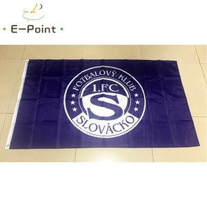 Bandera de la República Checa 1. FC Slovacko 3 * 5 pies (90cm * 150cm) Poliéster indicador de la bandera de volar a casa decoración bandera jardín regalos festivos