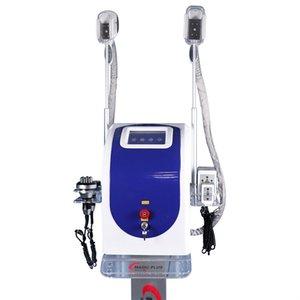 2020 Grasa Freeze Cryolipolysis Máquina 2 manijas crioterapia Enfriar Shaping láser Lipo cavitación vacío Rf Estiramiento de la piel corporal adelgazante