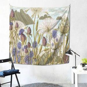 Moonlight garden series tapestry wall hanging forest decoration hip hop tapestry bedroom living room dormitory custom DIY festival
