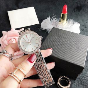 Womens quartzo analógico relógio de pulso Relógio Mens Relógios MK luxo do homem do 37.7MM amante Negócios Relógios