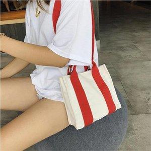 Designer-Brand Canvas Shoulder Crossbody Bags Women Casual Girls Pretty Shoulder Bag Female Fashion Mini Tote Messenger Bags Bolsos Mujer