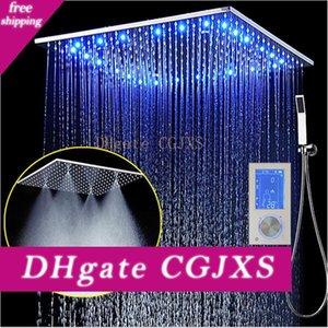 Led 3jets Intelligent Digital Display Regen-Dusche-Satz installiert Wand 20 Quot; Spa Mist Regen Thermostat-Touch-Panel-Mixer