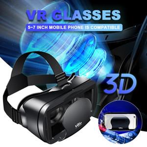 VRG Pro 3D Glasses Virtual Reality Caspetto per smartphone Eyeglasses Devices per giochi 5-7 'Telefono cellulare
