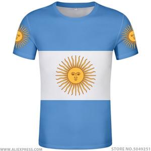 ARJANTİN t shirt ücretsiz özel isim numara ARG ülke spor salonları tişört ar bayrak ispanyolca argentine ulus baskı metin diy fotoğraf giysi 0924