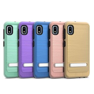 cgjxs Cgjxsfor Iphone 11 Pro Max für LG Stylo 5 K40 Für Coolpad Vermächtnis Galaxy A10e 2 in 1 Rüstung Kickstand Fall Stent D