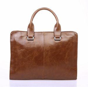 2020 Man Briefcase Dress Handbags Computer Bag Gentleman Business Trip Briefcase One Shoulder Crossbody