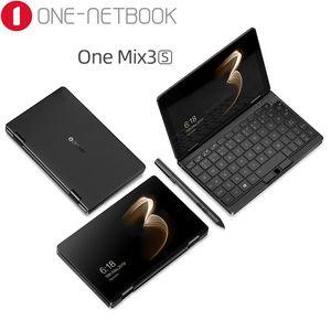 One-NetBook One Mix 3S 8,4-Zoll-Pocket PC Intel M3-8100Y 8GB Ram 256GB SSD 2560 * 1600 FHD Win 10 Fingerabdrucksensor WiFi