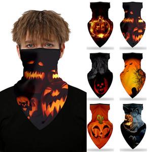 Cadılar Bayramı Maskeleri Cadılar Çeşit Magic Turban Üçgen Bisiklet Maskesi Havlu Binme Parti Maskesi DHL Maske