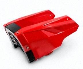 Motocicleta MSX 125 MSX125 SF Motor protector Sob Cow Fair Bellyt Red q6A0 #