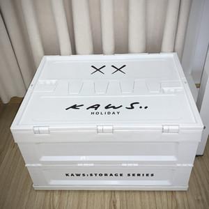 30 * 40 * 50cm Art und Weise Kaws Folding Aufbewahrungsbehälter Kreativ Auto-Boot-Lagerplätze Startseite Kleidung ToysMulti Zweck Schließfächer Box