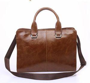Man Briefcase Dress Handbags Computer Bag Gentleman Business Trip Briefcase One Shoulder Crossbody