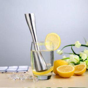 Stainless Steel Swizzle Stick Lemon Citrus Crushing Hammer Bartenders Tools Bar Broken Popsicle Tools Diy Bar Tools